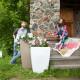 Напольное кашпо для цветов в Братске