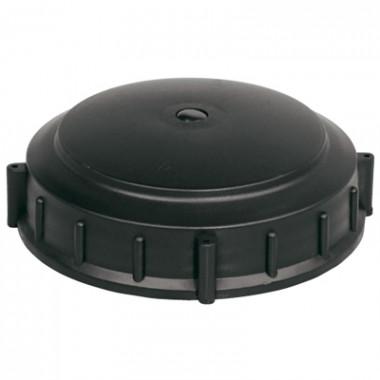 Крышка для емкости D240мм накидная c дыхательным клапаном пластик