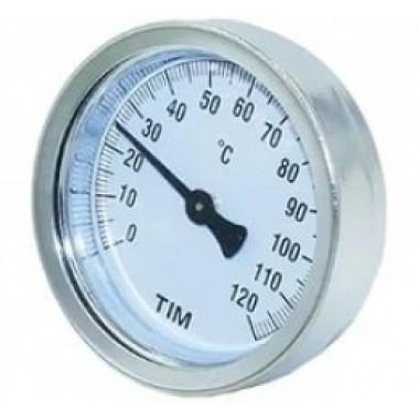 Термометр с гильзой TIM Y-63A-50-120