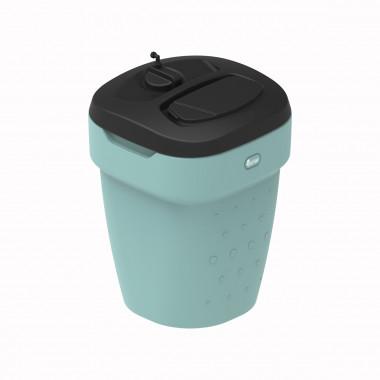 Солевой бак 350 литров светло-зеленый
