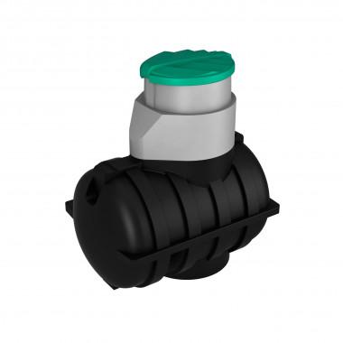 Емкость подземная U 1250 oil черный
