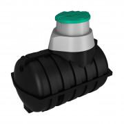Емкость подземная U 2000 oil черный