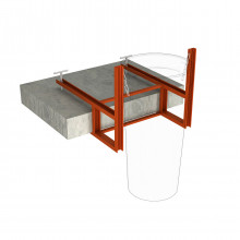 Кронштейн для перекрытий и балконов