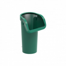 Мусоросброс секция приёмная (усиленная) зеленый